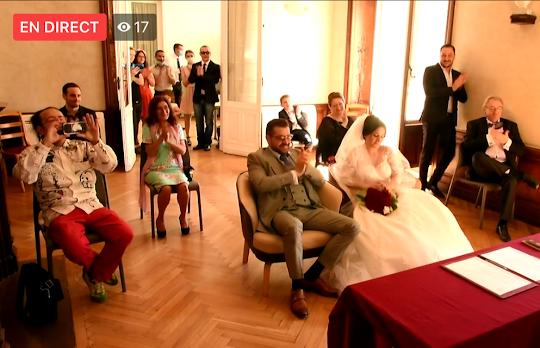 Captation de votre mariage et diffusion en temps réel !